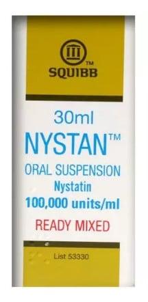 صورة , عبوة , دواء , معلق , لعلاج العدوى الفموية الفطرية , نيستاتين ريدي ميكس , Nystatin Ready Mix