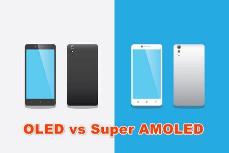 OLED vs Super AMOLED