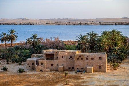 واحة سيوة ، مصر ، الحدود الليبية ، مرسى مطروح ، جبل الموتى ، حمام كليوباترا ، معبد آمون ، الذهب الأبيض