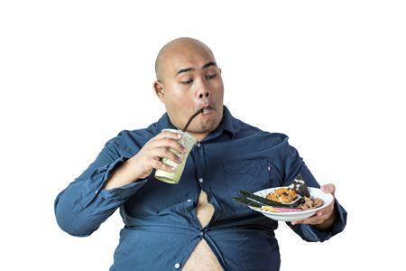 صورة , الوزن الزائد , شراهة حب الطعام