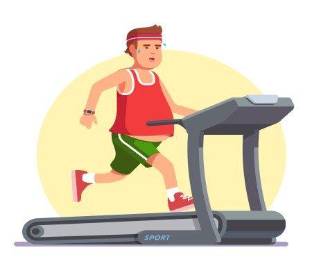 السمنة ، التمارين ، معالجة السمنة ، الحميات الغذائية