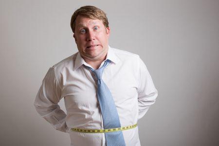 الوزن الزائد , السمنة , صورة , رجل