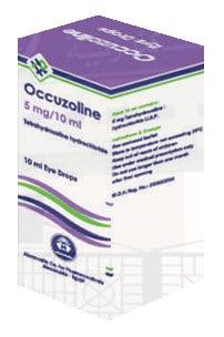 صورة, عبوة ,قطرة, أوكيوزولين, Occuzoline