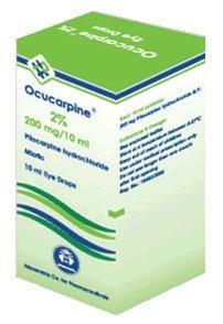 صورة,دواء,علاج,قطرة العين, عبوة , أوكيوكاربين , Ocucarpine
