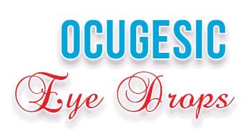 صورة,تصميم, أكيوجسك, قطرة, Ocugesic ,Eye Drops