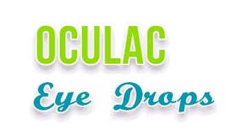 صورة,تصميم, قطرة, أكيولاك, Oculac