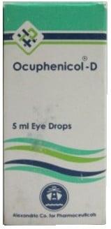 صورة, عبوة, أوكيوفينيكول د, Ocuphenicol D