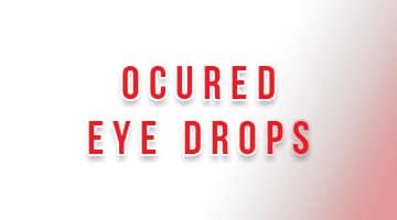 صورة,تصميم, قطرة, أوكيورد, Ocured, Eye Drops