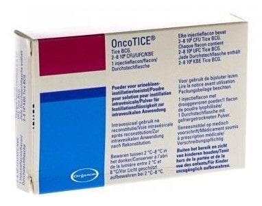 صورة , عبوة , دواء , لعلاج سرطان المثانة , أونكوتايس , Oncotice