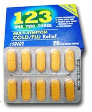 صورة , عبوة , دواء , أقراص , وان تو ثري 123 , One Two Three