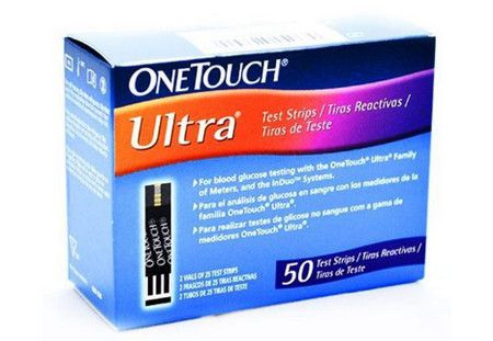 صورة , عبوة , شرائط اختبار , وان تاتش الترا , OneTouch-Ultra