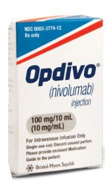 صورة , عبوة , دواء , لعلاج السرطان , أوبديفو , Opdivo