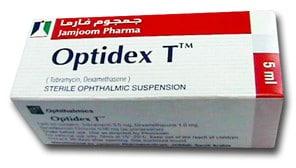 صورة , عبوة , دواء , أوبتيديكس ت , Optidex T