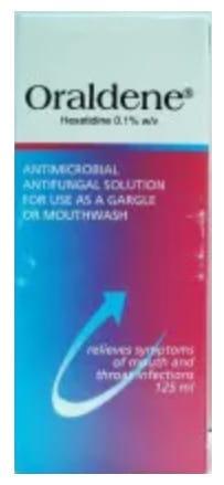 صورة , عبوة , دواء , محلول , علاج إلتهابات الفم , أورالدين , Oraldene