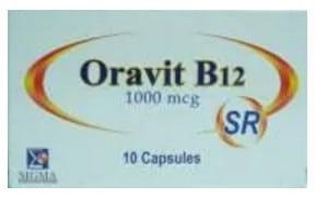صورة, عبوة, أورافيت ب١٢, Oravit B12 SR