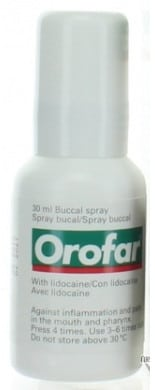 صورة,دواء,بخاخ, عبوة ,أوروفار ,Orofar