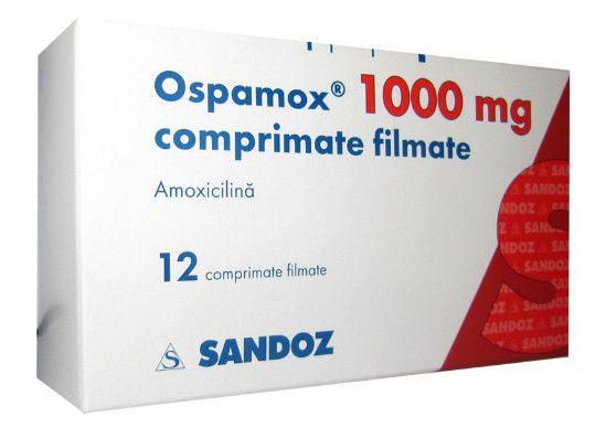 صورة , عبوة , دواء , مضاد حيوي , أوسباموكس , Ospamox