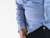 صورة , رجل , إنقاص الوزن , الإبر الصينية , الوزن الزائد