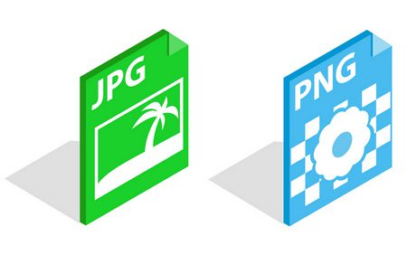 صيغ الصور , PNG vs JPG