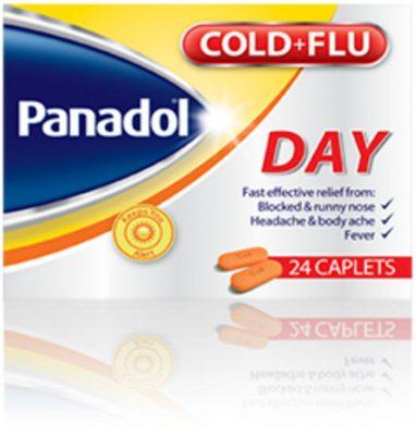 صورة, عبوة, بانادول, كولد , فلو, Panadol ,Cold ,Flu