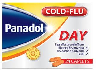صورة, عبوة ,بانادول, كولد اند فلو داي ,Panadol, Cold And Flu Day