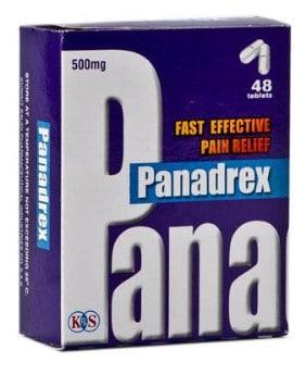 صورة, عبوة, بانادريكس, Panadrex