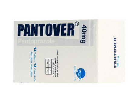 صورة , عبوة , دواء , لعلاج القرحة المعدية , بانتوفير , Pantover