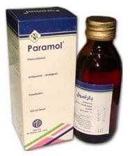 صورة , عبوة , دواء , بارامول , شراب , Paramol