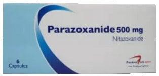 صورة, عبوة ,بارازوكسانيد, Parazoxanide