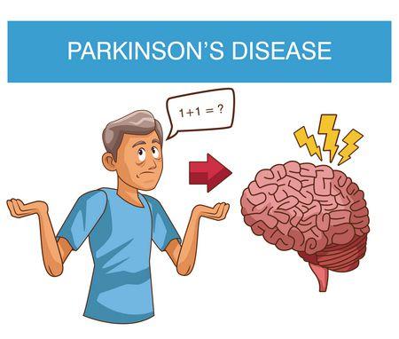 صورة , الدماغ , مرض باركنسون , الشلل الرعاش