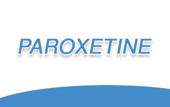 صورة,تصميم, باروكستين, Paroxetine