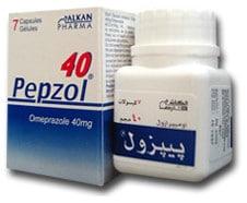 صورة , عبوة , دواء , بيبزول , Pepzol