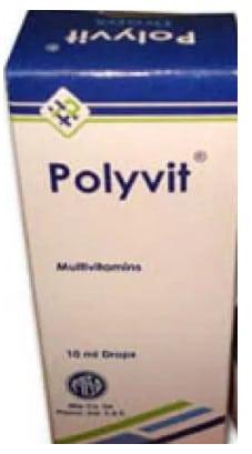 صورة , عبوة , دواء , نقط , علاج نقص الفيتامينات , بوليفيت , بوليفيت - Polyvit