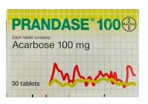 صورة , عبوة , دواء , أقراص , لعلاج سكري النوع الثاني , برانداز , Prandase
