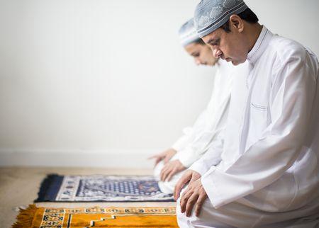 صورة , الصلاة , مسلمون