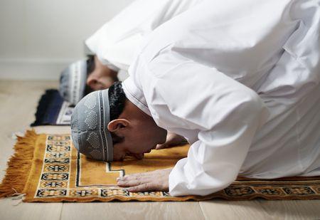 صورة , الصلاة , الخشوع , مسلمون