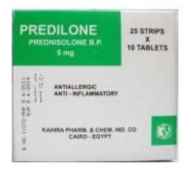 صورة , عبوة , دواء , بريديلون , أقراص Predilone