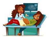 الحامل ، الولادة ، مخاوف الحمل ، خوف ، توتر