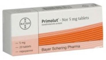 صورة , عبوة , دواء , أقراص , لعلاج اضطرابات الدورة الشهرية , بريمولوت نور , Primolut-Nor