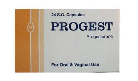 صورة , عبوة , دواء , كبسولات , بروجيست , Progest