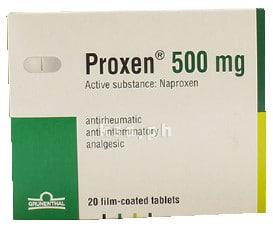 صورة, عبوة, بروكسين, Proxen