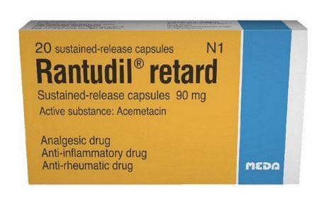 صورة , عبوة , دواء , مسكن للألم , رانتوديل ريتارد , Rantudil-Retard