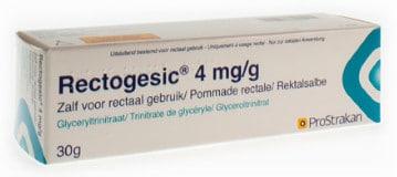 صورة , عبوة , دواء , مرهم شرجي , لتخفيف آلام الشق الشرجي , ركتوجيسيك , Rectogesic