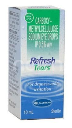 صورة , عبوة , دواء , لتخفيف حرقة العين , ريفرش تيرس , Refresh Tears