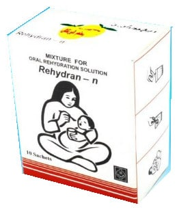 صورة , عبوة , دواء , محلول , لمعالجة الجفاف , ريهيدران ن , Rehydran-N