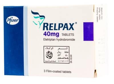 صورة,دواء,علاج, عبوة, ريلباكس, Relpax