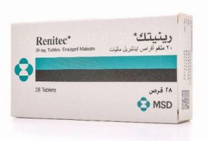 دواء رينيتك , صورة حبوب Renitec