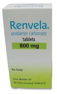 صورة , عبوة , دواء , أقراص , علاد ارتفاع نسب الفسفور , رينفيلا , Renvela