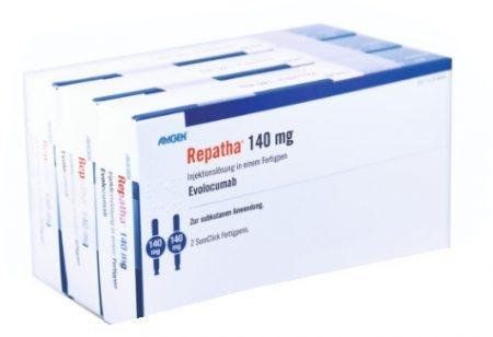صورة , عبوة , دواء , محلول للحقن , لعلاج ارتفاع الكوليسترول , ریباتا , Repatha