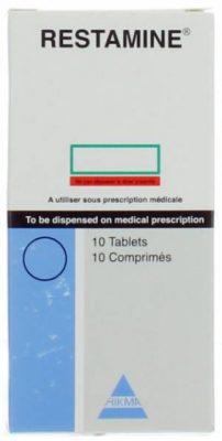 صورة,دواء,عبوة ,رستامين, Restamine